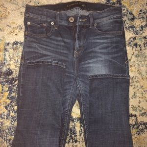 Express mid-rise skinny jeans 0S